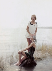 Two Models on the Shore, November 15, 1954